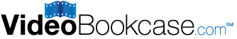 video bookcase logo