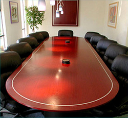 video conferencing furniture